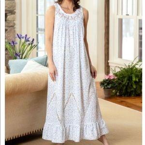 Eileen West Moonlight Sonata Long Nightgown XL